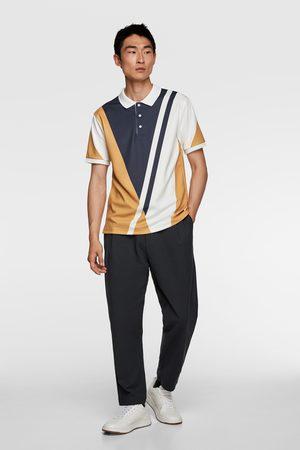 Zara Polo rayas estampadas