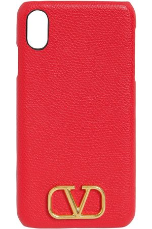 VALENTINO GARAVANI Grained Leather Iphone Xs Max Case