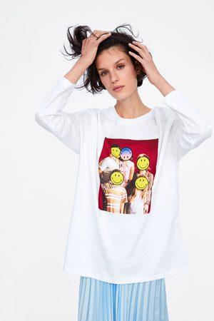 Zara Camiseta smiley® originals