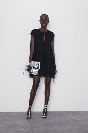 Zara Vestido mini combinado