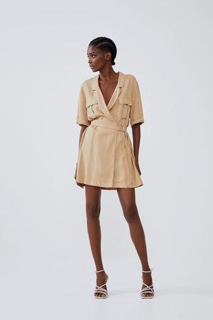 Zara Vestido bolsillos