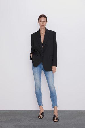 Zara Jeans zw premium 80's high waist old blue