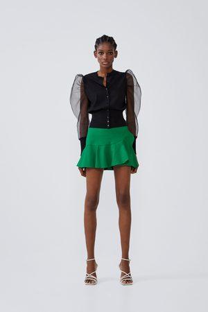 Zara Falda shorts volante