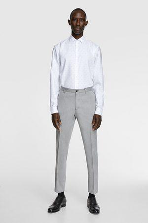 Zara Camisa estructura stain free