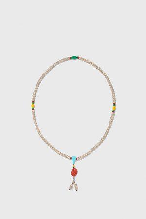 Zara Collar abalorios combinados