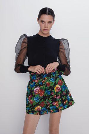 Zara Bermuda estampafo floral