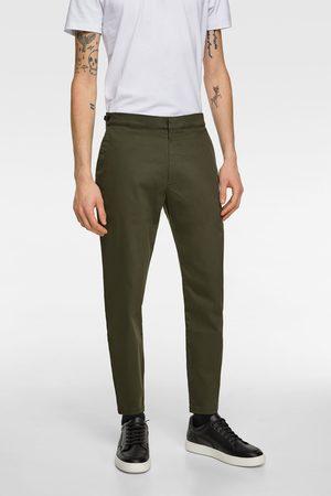 Zara Pantalón chino soft denim