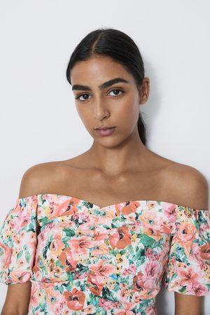 Zara Cuerpo estampado floral