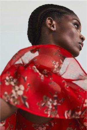 Zara Mujer Estampados - Vestido estampado flor