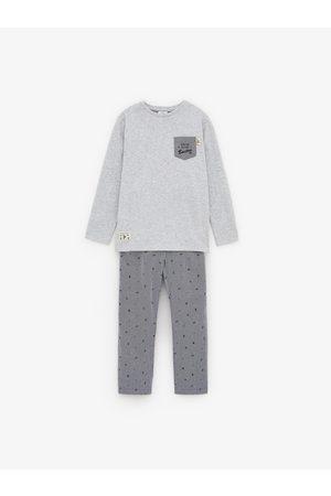 Zara Pijama popelín boston