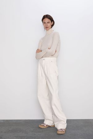 Zara Jersey básico cuello subido