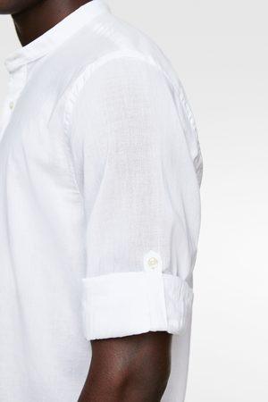 Zara Camisa manga sardineta