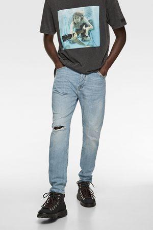 Zara Jeans slim rotos