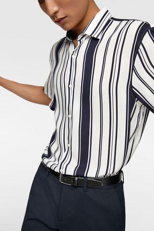 Zara Camisa estampado rayas
