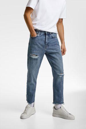 Zara Jeans essentials efecto rotos