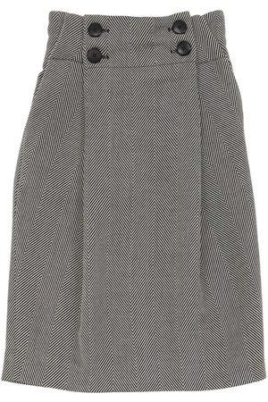 Unlabel Long Printed Viscose Blend Skirt
