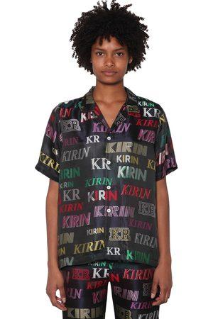 KIRIN Mujer Pijamas - Logo Lurex Jacquard Pajama Shirt
