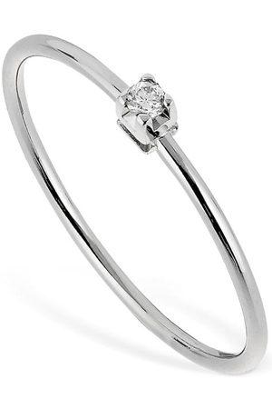 VANZI Mujer Anillos - 18kt White Gold & Diamond Ring