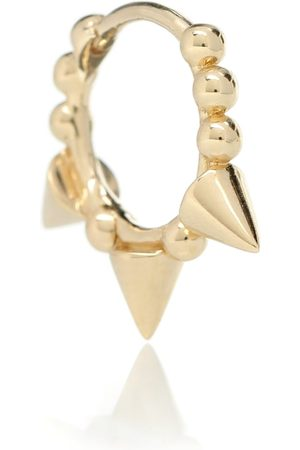 Maria Tash Triple Spike Clicker 14kt gold earring