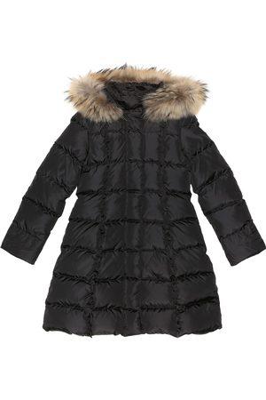 Il gufo Fur-trimmed puffer coat