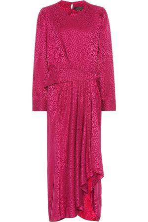 Isabel Marant Mujer Ajustados y entubados - Romina stretch-silk dress
