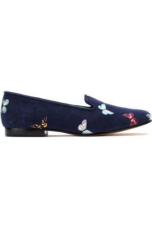 Blue Bird Shoes Slippers Borboletas