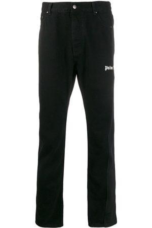 Palm Angels Hombre Rectos - Jeans rectos con logo