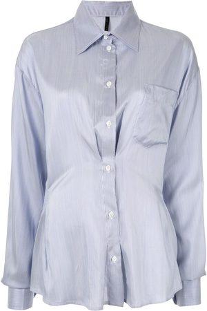 Unravel Project Camisa con detalles fruncidos