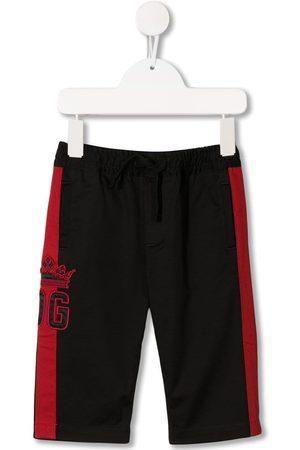 Dolce & Gabbana Pants con logo bordado