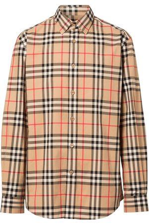 Burberry Camisa con motivo Vintage Check