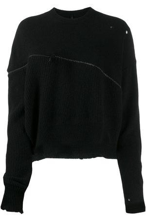 Unravel Project Mujer Suéteres abiertos - Suéter oversize con cierre