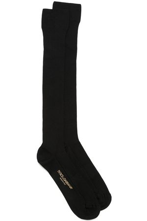 Dolce & Gabbana Calcetines con logo en contraste