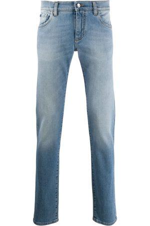 Dolce & Gabbana Jeans slim con efecto degradado