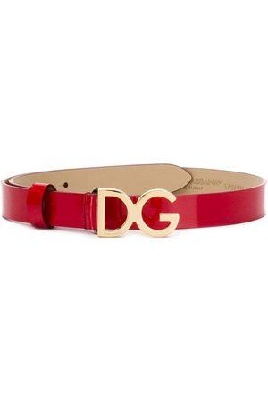 Dolce & Gabbana Niño Tirantes - Cinturón con placa del logo