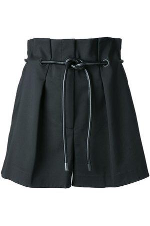 3.1 Phillip Lim Mujer Shorts - Shorts con pinzas Origami