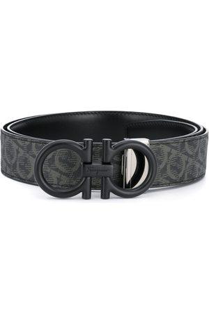 Salvatore Ferragamo Hombre Cinturones - Cinturón con logo estampado