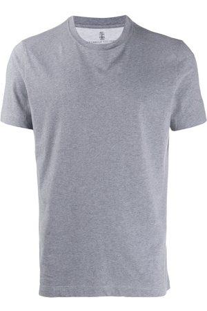 Brunello Cucinelli Hombre Playeras - Camiseta con cuello redondo