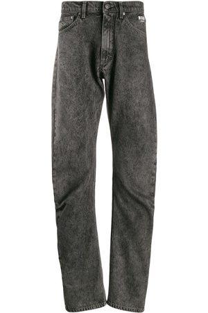 Msgm Jeans rectos con efecto envejecido