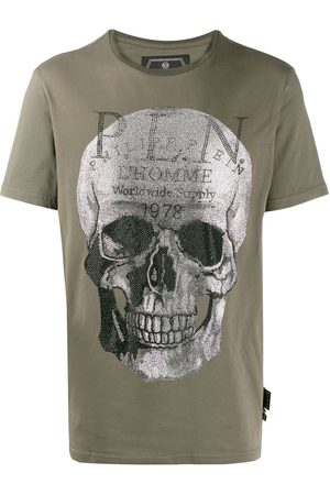 Philipp Plein Playera Platinum Cut Skull