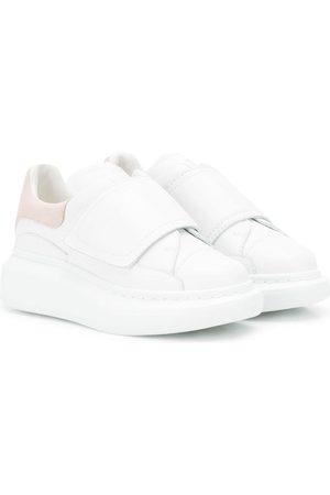 Alexander McQueen Tenis - Zapatillas con suela ancha y cierre autoadherente
