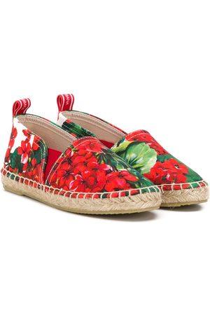 Dolce & Gabbana Alpargatas - Alpargatas con motivo floral