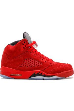 Jordan Hombre Tenis - Air 5 Retro red suede