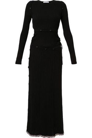 CHRISTOPHER ESBER Mujer Vestidos - Vestido tejido de canalé