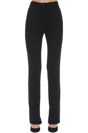Victoria Beckham Pantalones Skinny De Cady Texturizados
