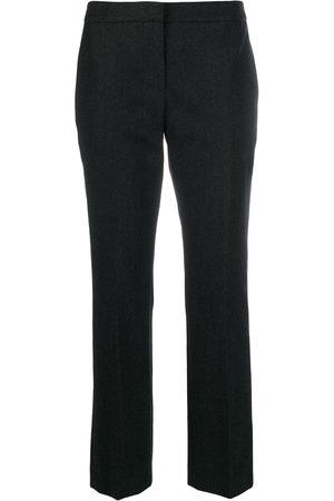 Alexander McQueen Pantalones de vestir estilo capri