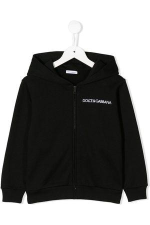Dolce & Gabbana Con capucha - Sudadera con capucha y logo bordado