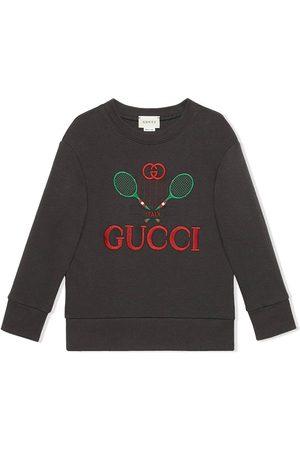 Gucci Sudaderas - Sudadera con logo bordado