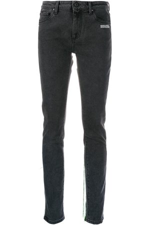 OFF-WHITE Mujer Skinny - Thread trim jeans