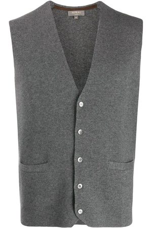 N.PEAL Hombre Chalecos - Cashmere Carnaby knitted vest