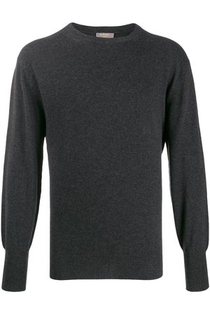 N.PEAL Oxford round neck jumper